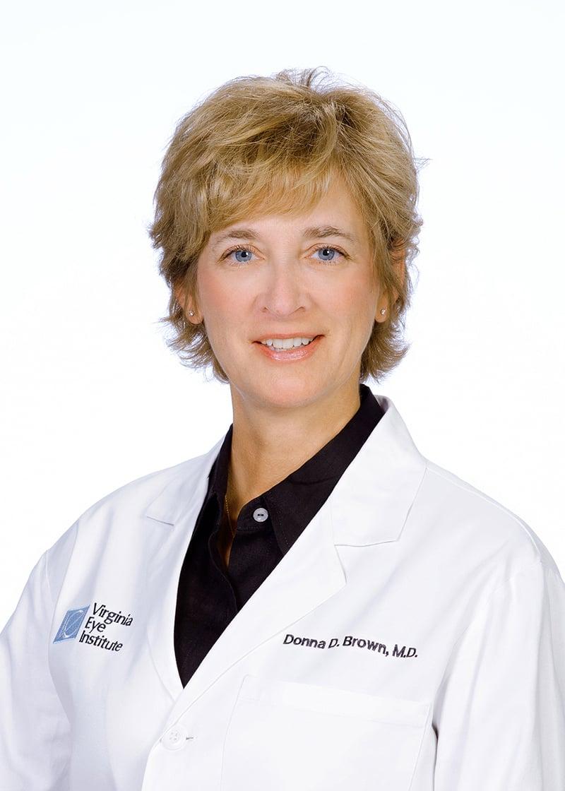Donna D. Brown M.D., F.A.C.S. :