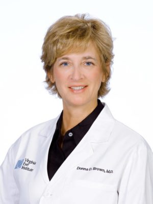 Donna Brown lab coat profile pic