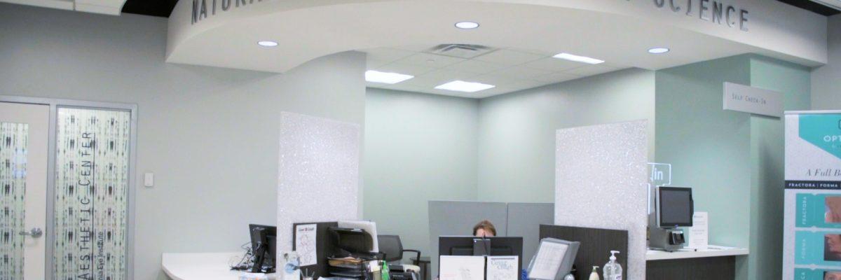 VEI Aesthetic Center Location Banner