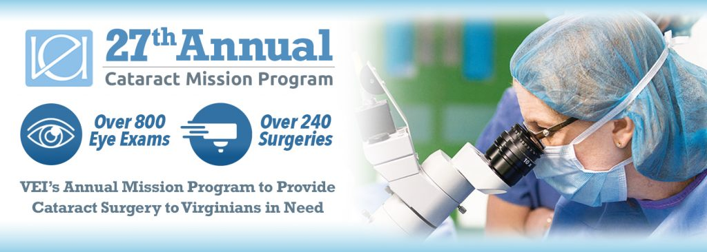 Virginia Eye Institute's 27th Annual Cataract Mission
