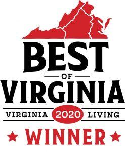 Best of Virginia 2020 Winner Digital Badge - Virginia Living
