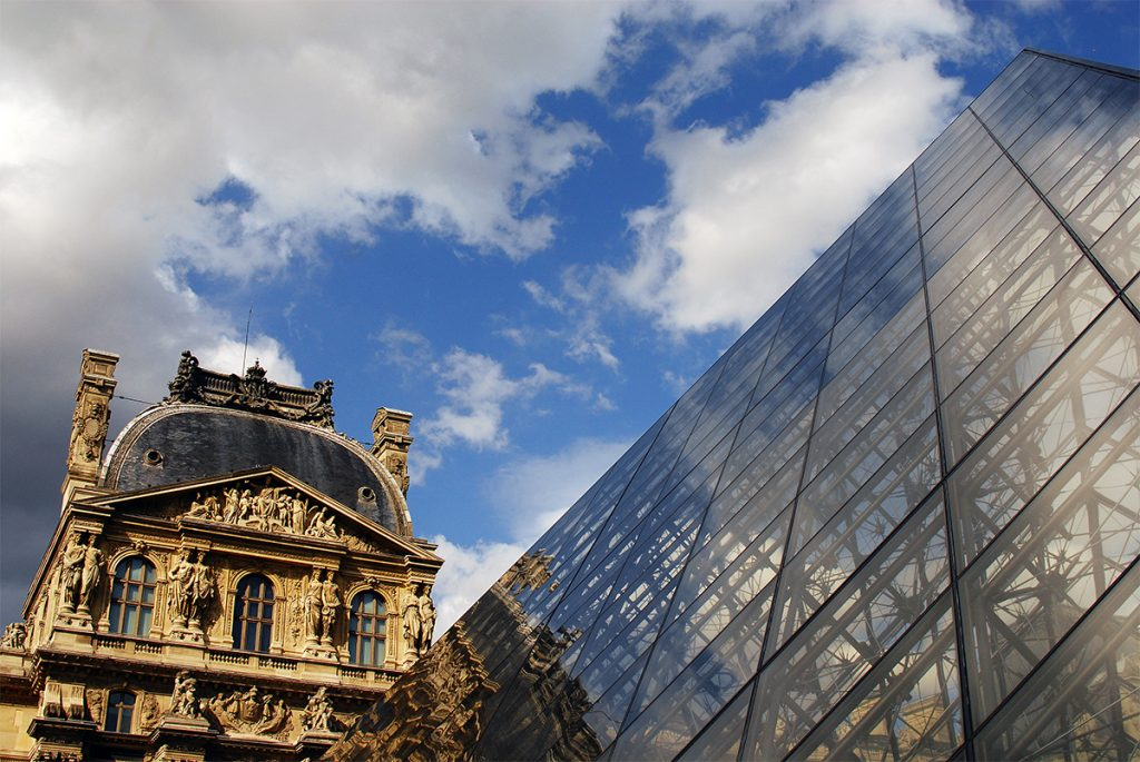 Louvre Museum Photo - VEI Artists of the Month October 2020