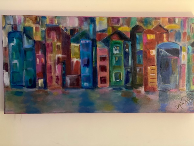 Painted by Karen Roodman - VEI Artist of the Month May 2021