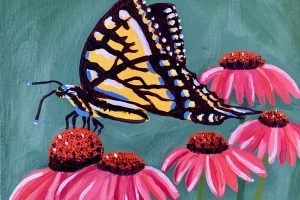 August 2021 Artist of the Month - Faith Rowland, Painting