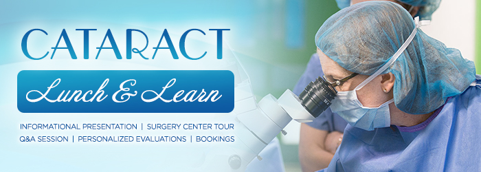 Cataract Lunch & Learn Graphic
