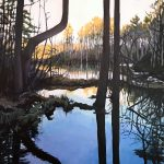 Donna Frostick - The Beginning is the Reflection of the End - 36x24