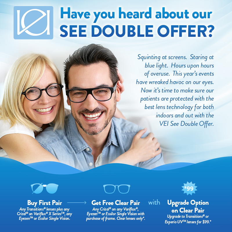 VEI See Double Offer Information
